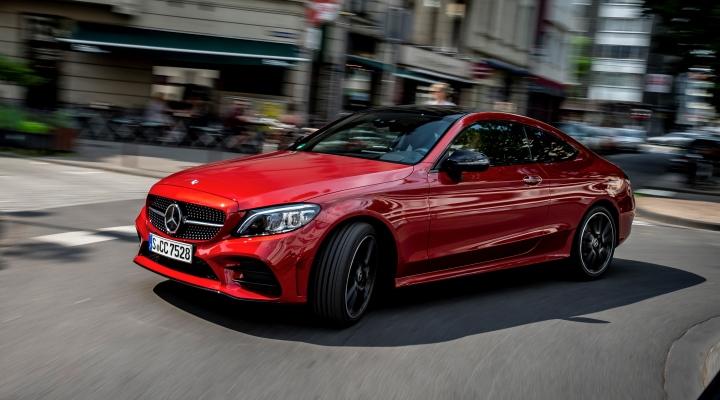 Mercedes Clase C Coupé 2021