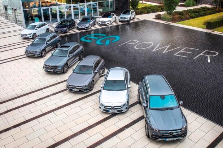 Mercedes coche híbrido