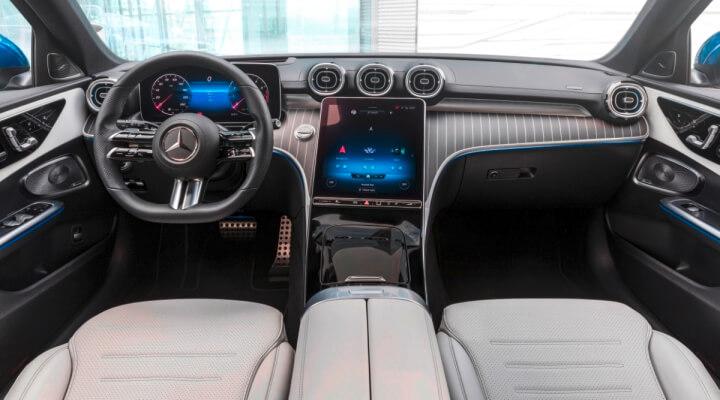 Interior Mercedes Clase C 2021