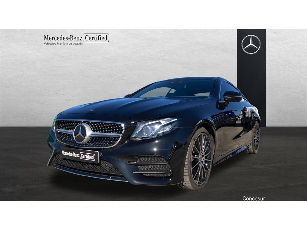 Mercedes-benz clase e coupé e 400 4matic