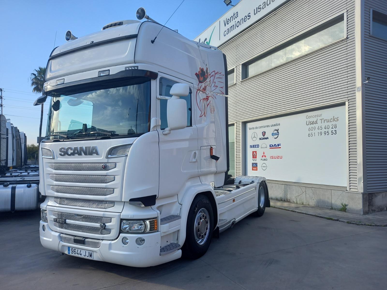 SCANIA R 520 AÑO 2015