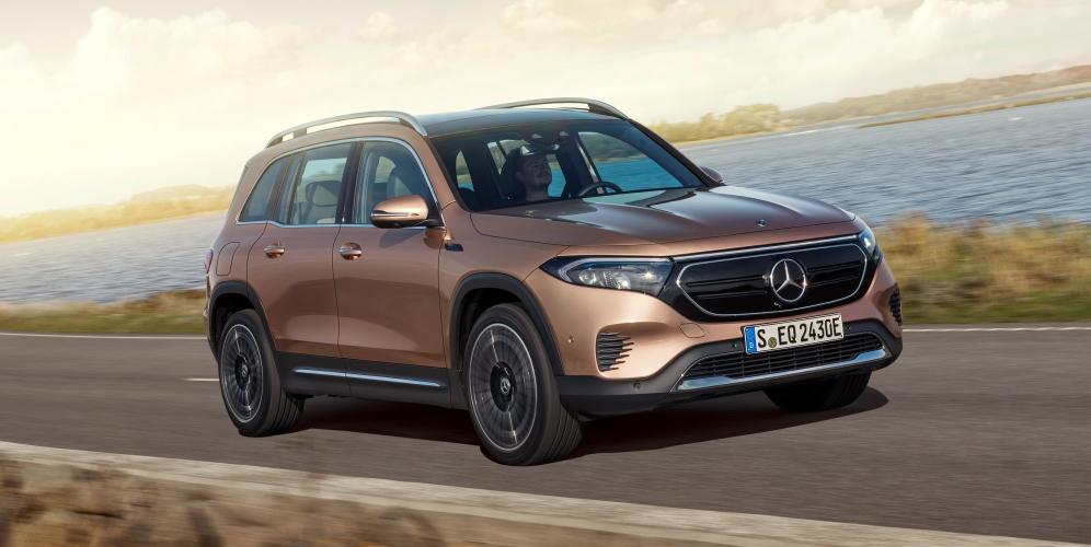 Presentación del nuevo Mercedes EQB: SUV, eléctrico y familiar
