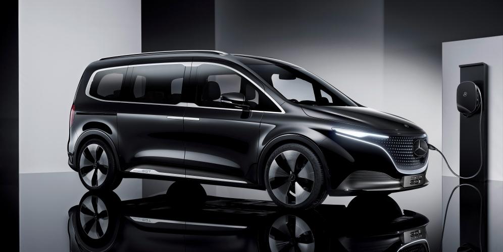 Mercedes Concept EQT: la furgoneta eléctrica para el segmento premium
