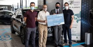 RetoEQA, la iniciativa solidaria de Grupo Concesur, hace entrega de 4.880€ a la Asociación AFA Aljarafe