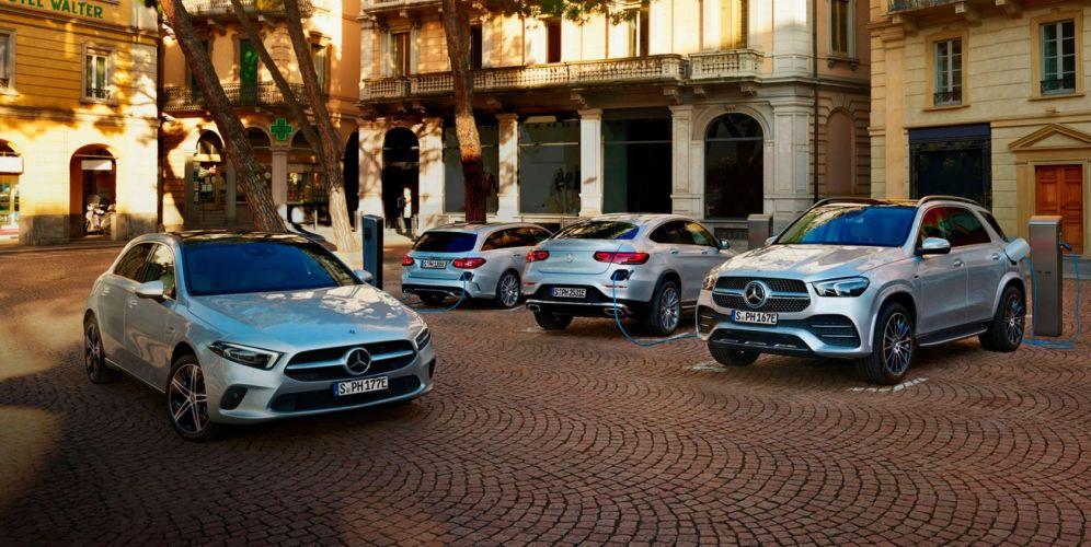 El híbrido enchufable con más autonomía de Mercedes Benz
