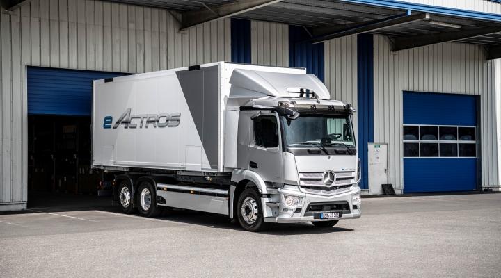 Mercedes eActros 2021