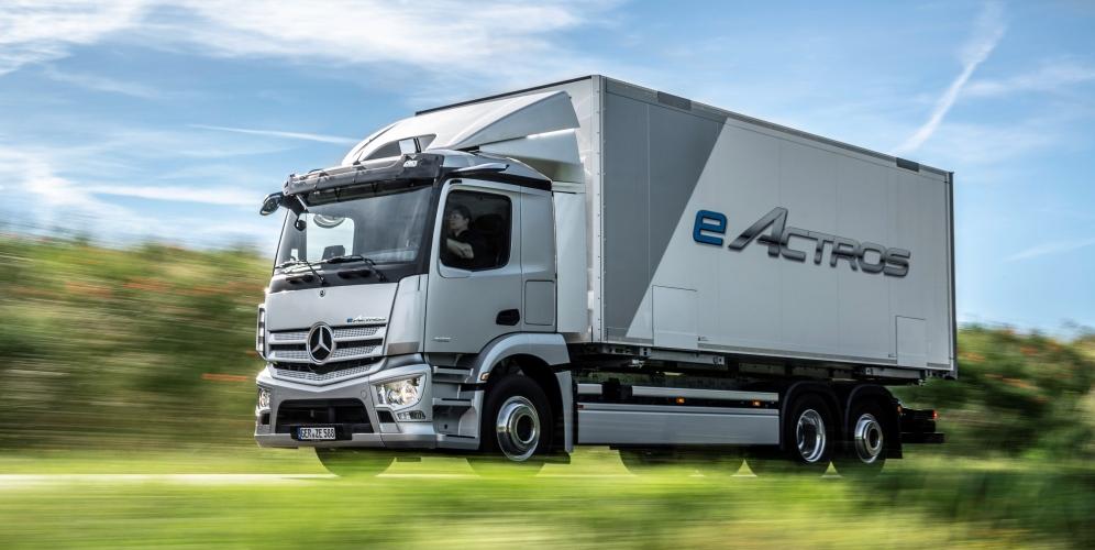 Mercedes eActros 2021: el primer camión eléctrico de Mercedes Benz