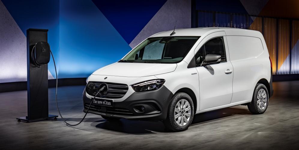 Mercedes eCitan 2022: la nueva furgoneta eléctrica y compacta