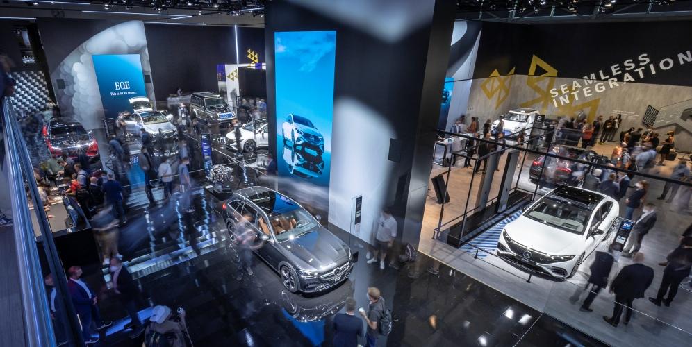 Las novedades de Mercedes Benz en el IAA MOBILITY 2021