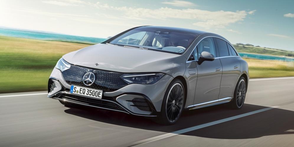 Presentación del Mercedes EQE: la nueva berlina eléctrica de referencia