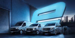¿Cuál es la autonomía de las furgonetas eléctricas de Mercedes?