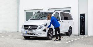 Nuevos Mercedes eVito Tourer 126 y Mercedes EQV 250, ahora con nueva batería de 60 kWh