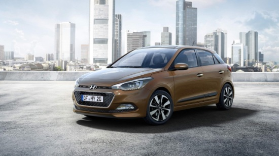 New Generation i20 Front