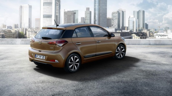 New Generation i20 Rear
